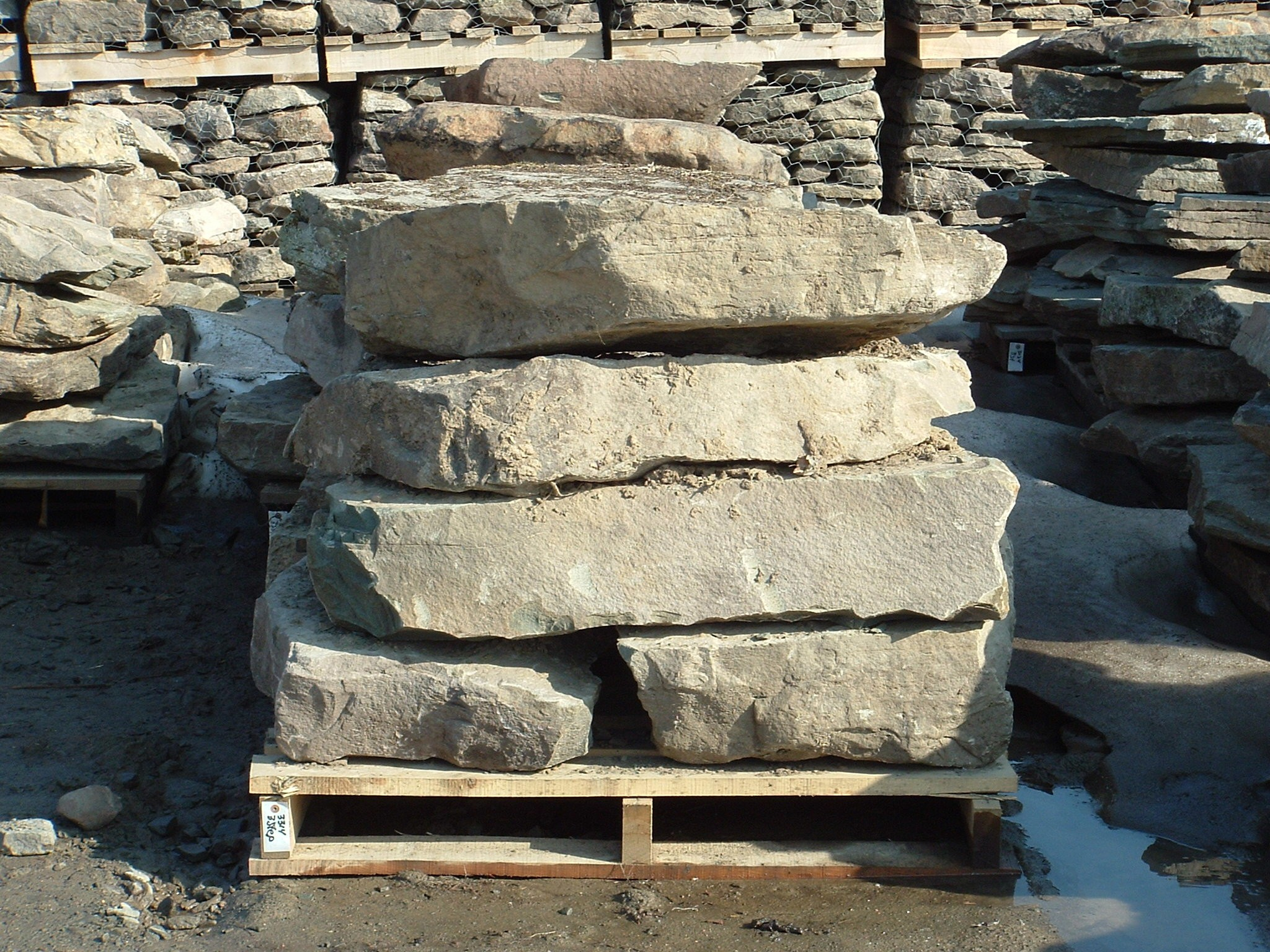 Natural Fieldstone - 2 X 3 Steps