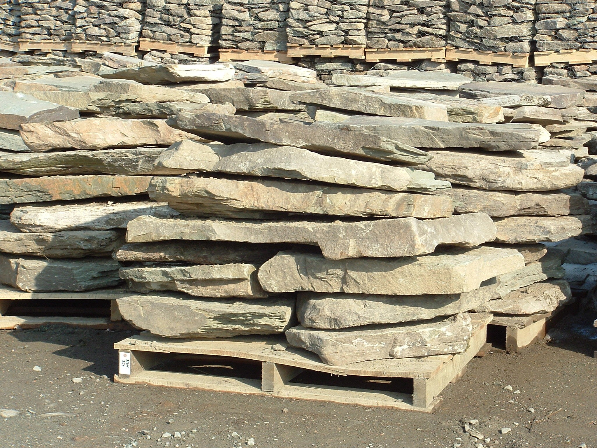 Natural Fieldstone - Steppers