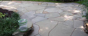 Irregular Fieldstone Patio